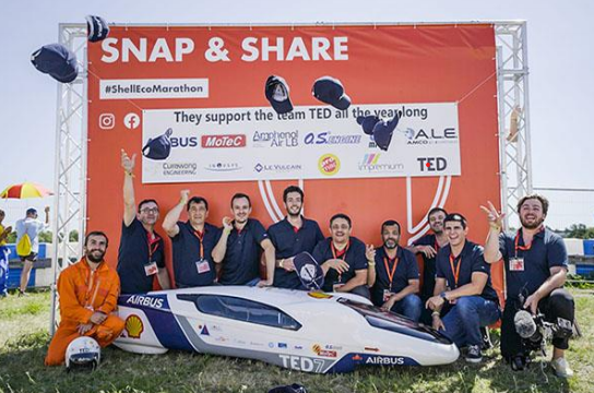 OTEC PRÄZISIONSFINISH PUTS AIRBUS-TEAM TED IN POLE POSITION